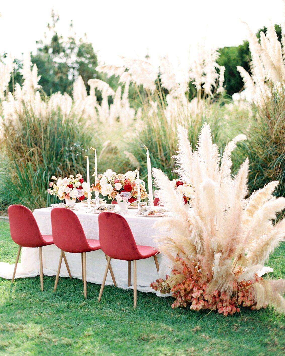 Trending Now: Pampas Grass Wedding Ideas | Martha Stewart Weddings