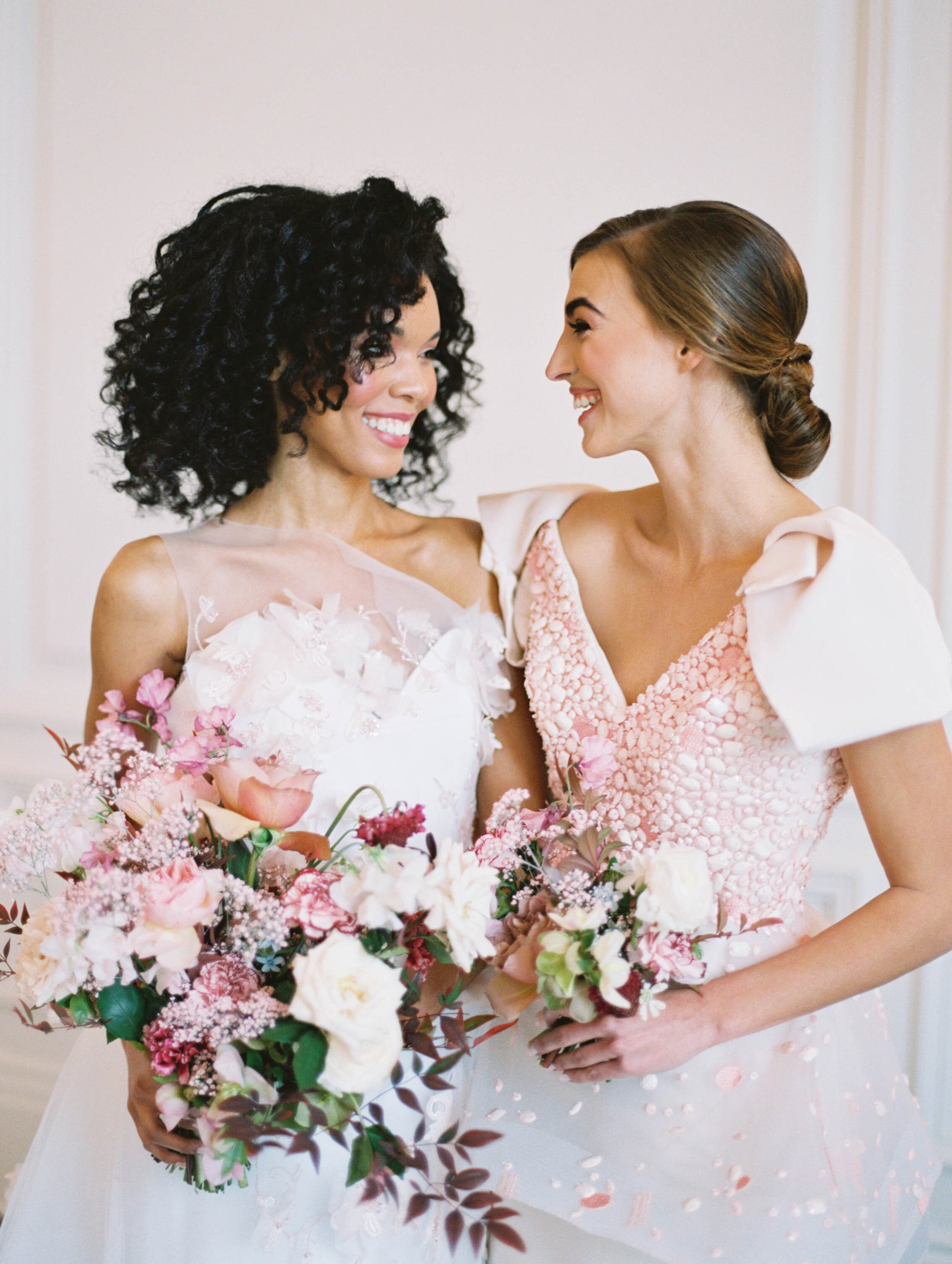 21 Hairstyles Any Maid Of Honor Would Love Martha Stewart Weddings