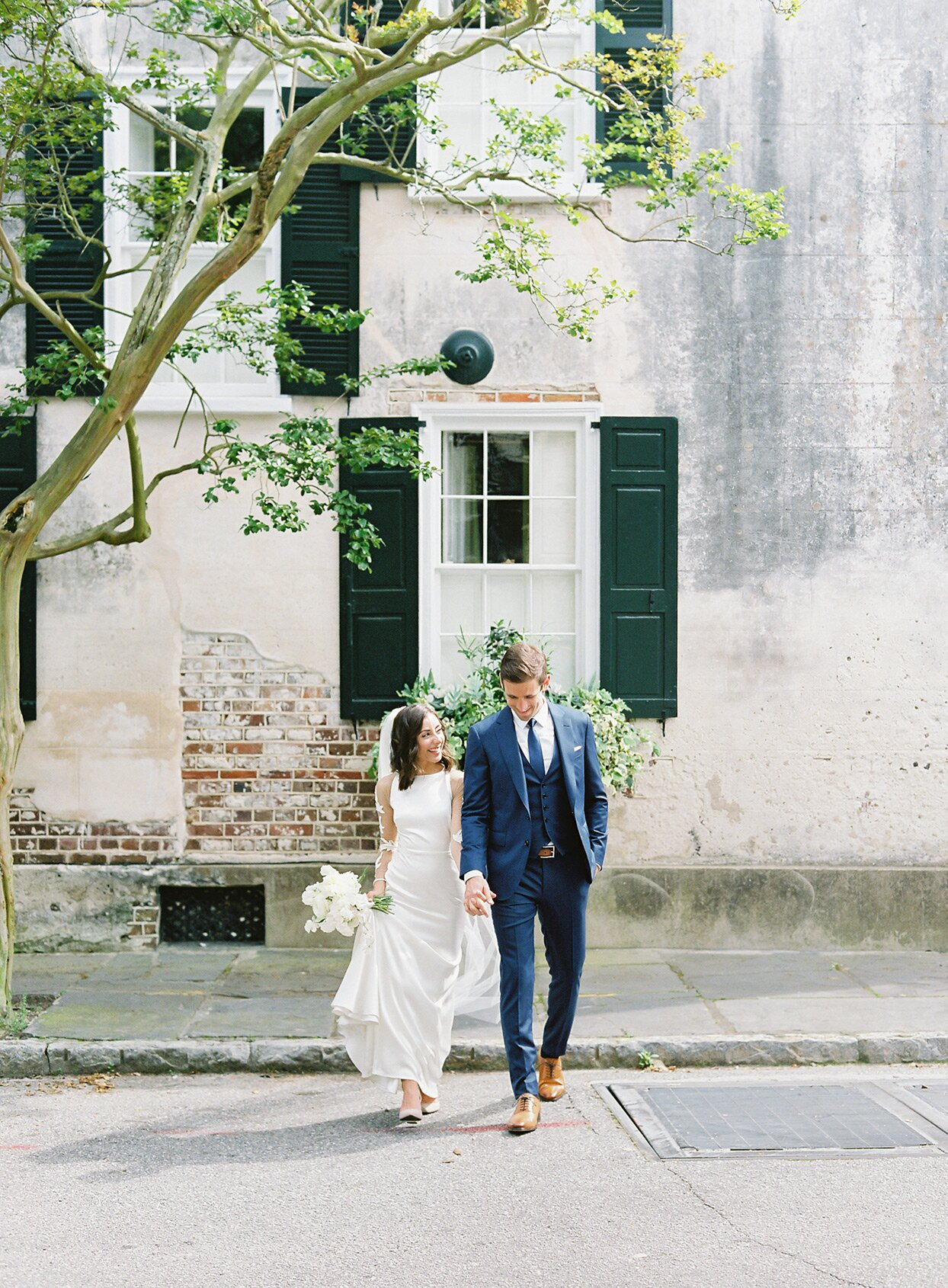 This Couple Celebrated Their Charleston Nuptials On The Porch Of