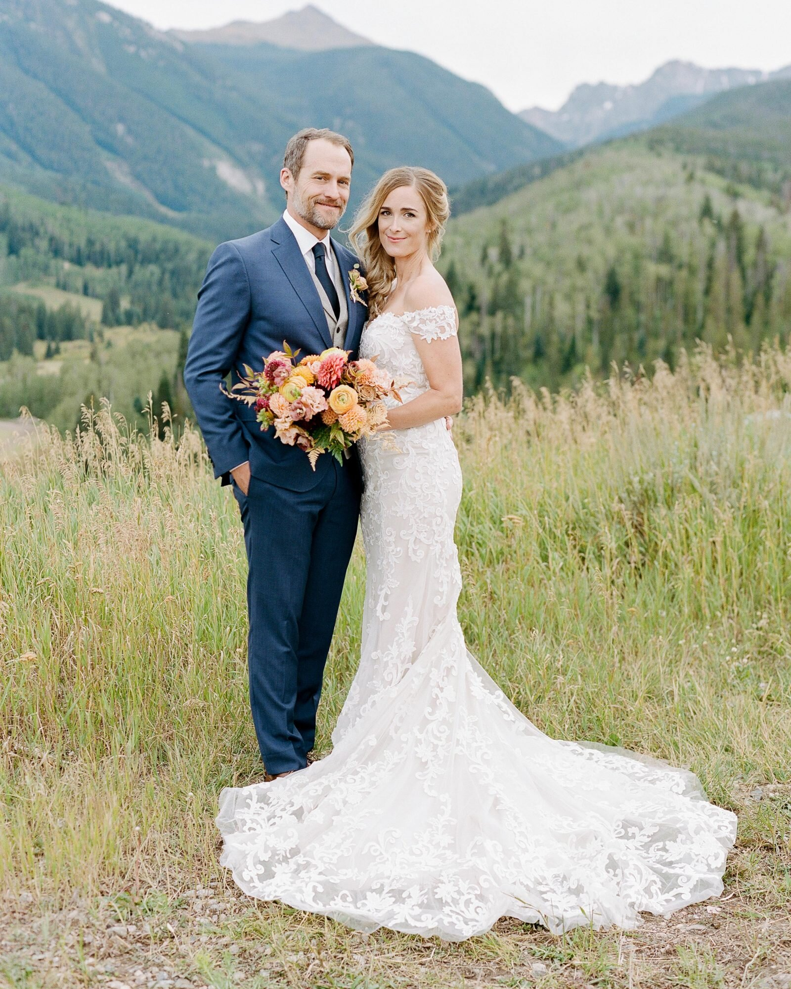 This Sustainable Outdoor Wedding In The Colorado Mountains Was