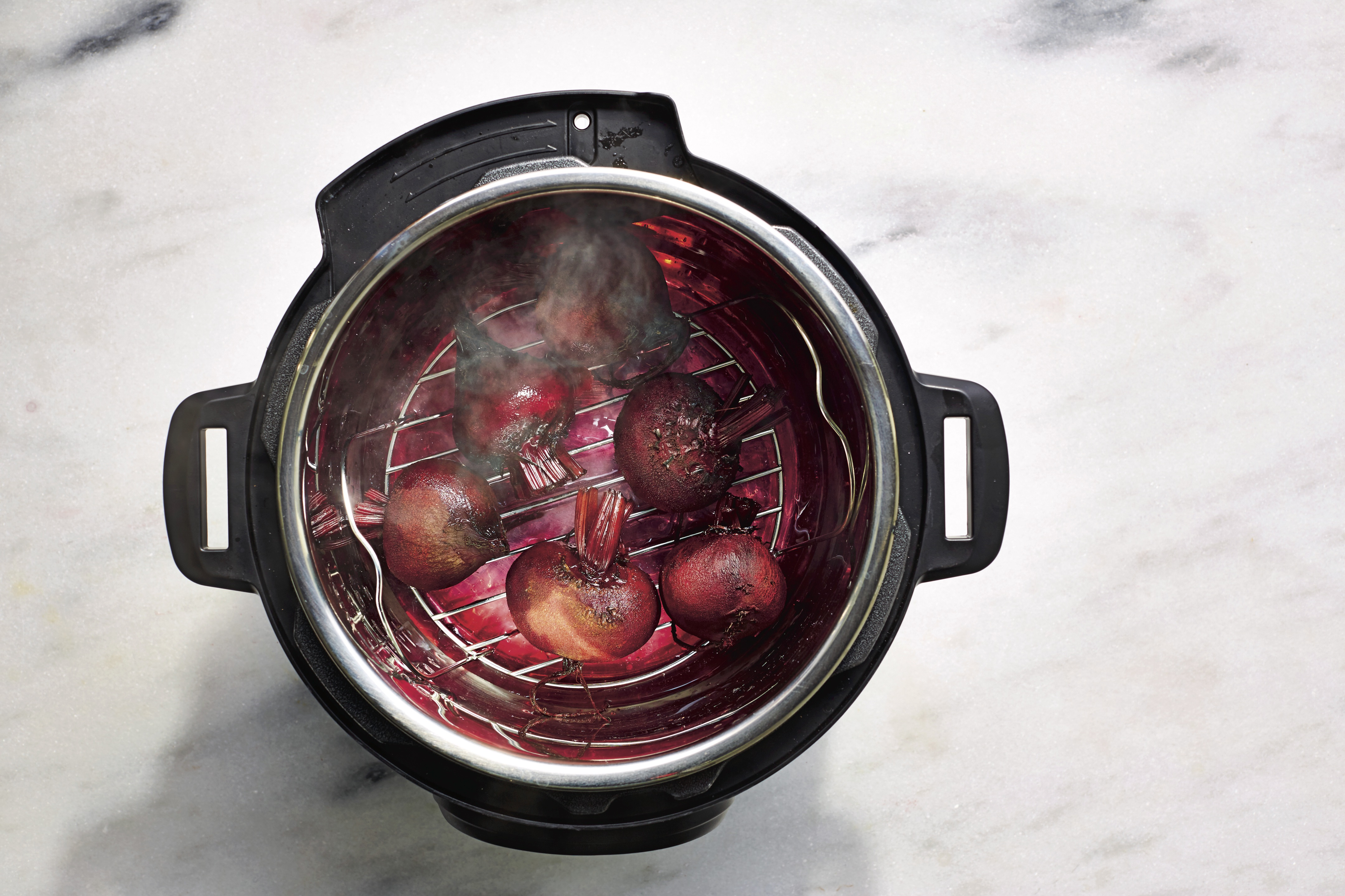 Pressure-Cooked Beets