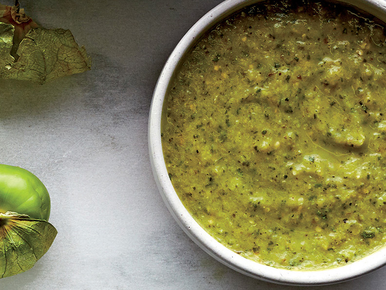 Spicy Tomatillo-Lime Sauce