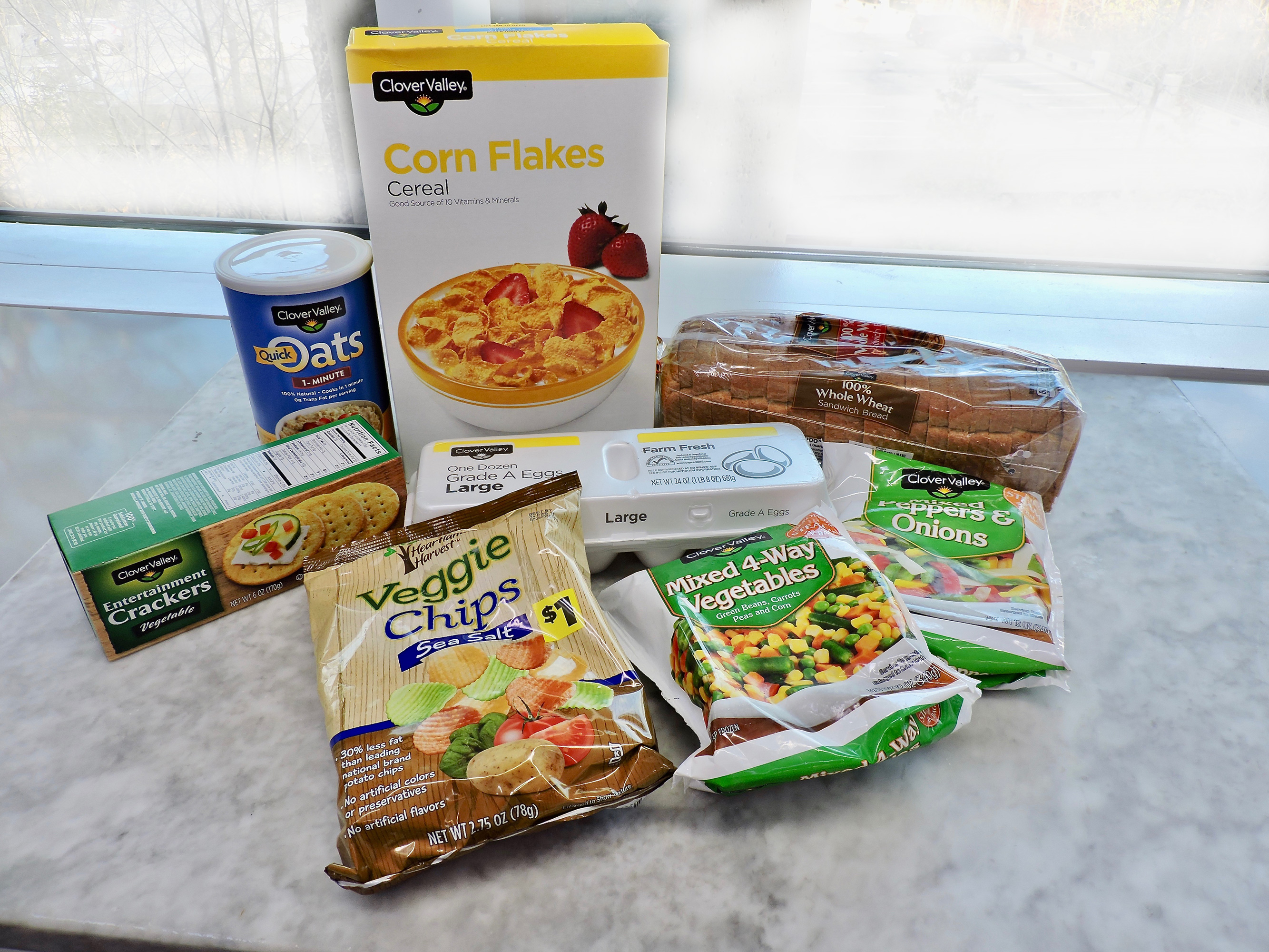 99 Cent Store Food Recipes healthy food and groceries you can buy at the dollar store