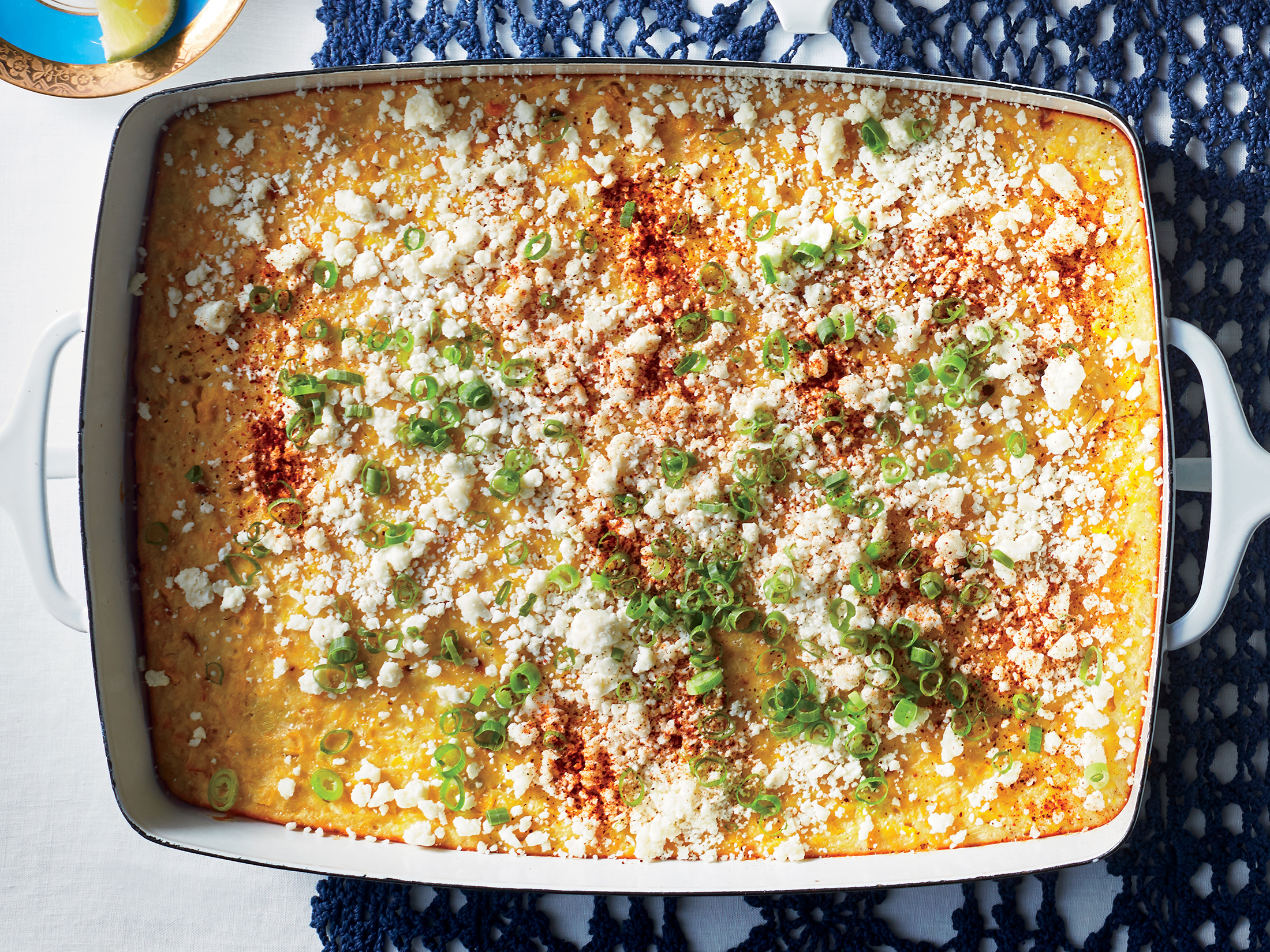 Elote Corn Pudding