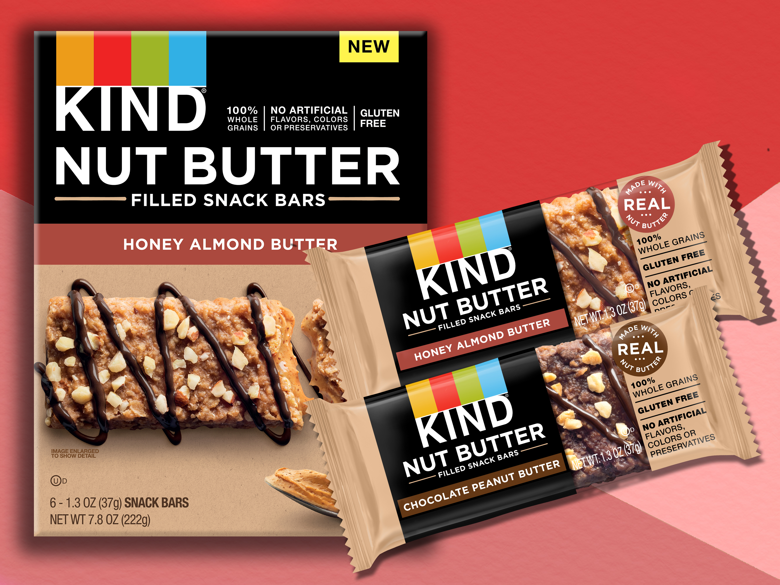 Kind Launches New Nut Butter Bars With Less Than 200 Calories Each Cooking Light