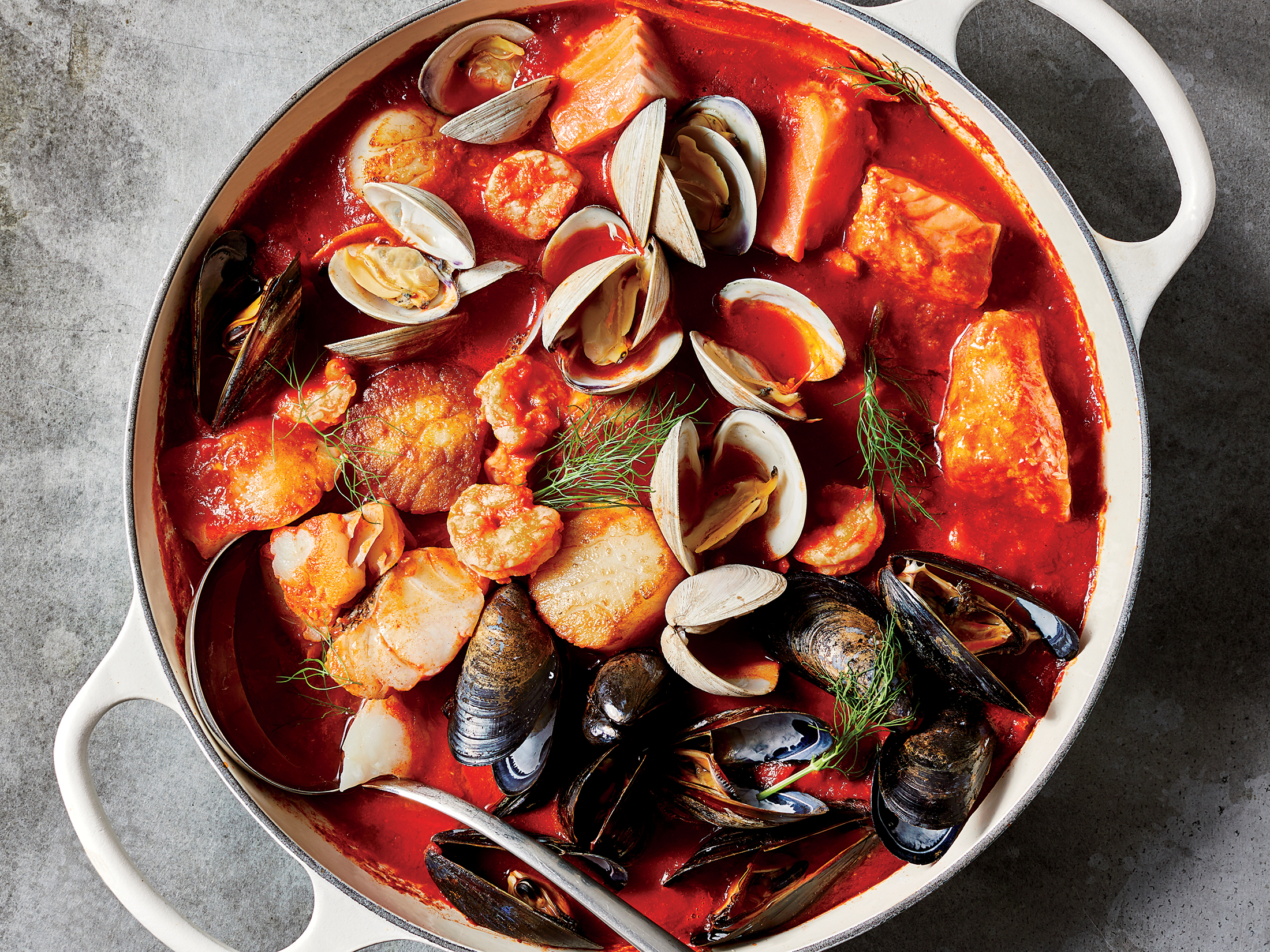 Feast of the Seven Fishes Stew