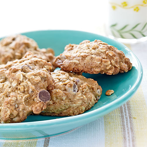 1. Cookies: As a banana ripens, its starch turns to sugar making it mushy and super-sweet. Adding just one ripe banana to these oatmeal-chocolate chip cookies provides light banana flavor and enough sweetness that you can cut back on added sugar. View Recipe: Banana-Oatmeal Chocolate Chip Cookies
