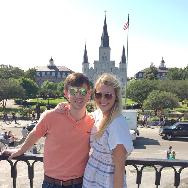 My husband Josh and me in New Orleans