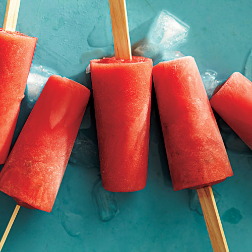 Watermelon-Jalapeño Ice Pops