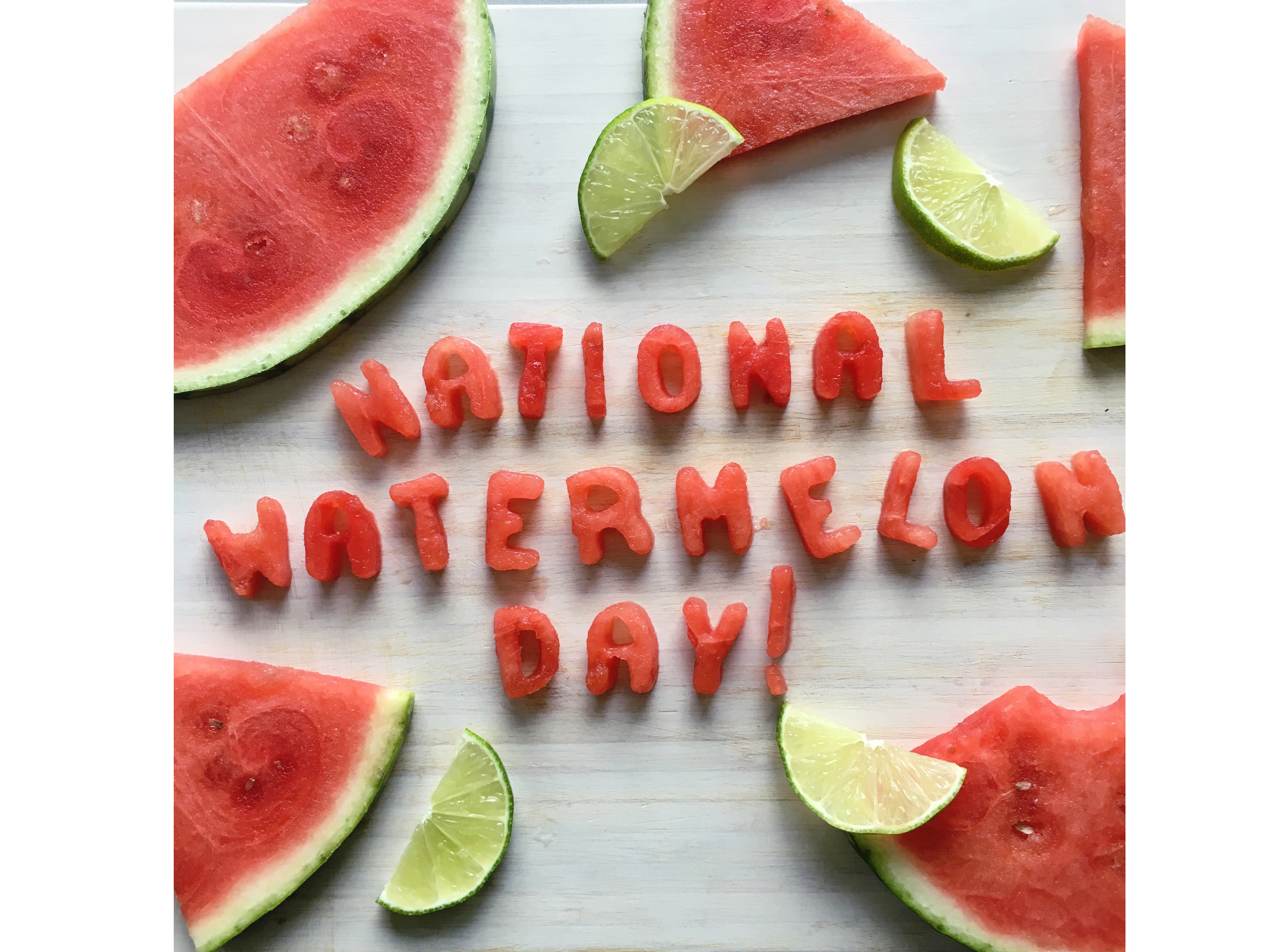 national watermelon day image