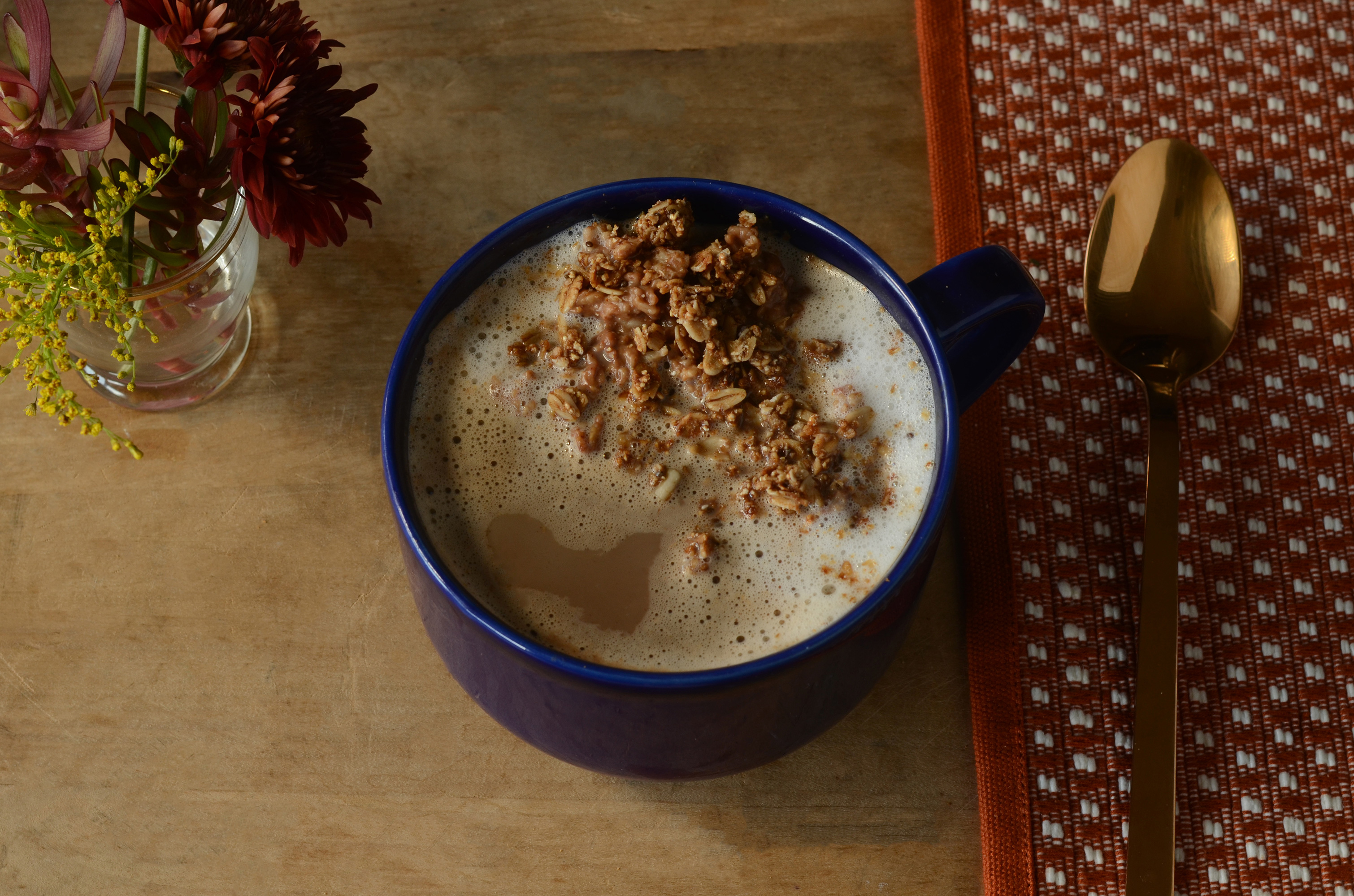 Chocolate Oatmeal Latte