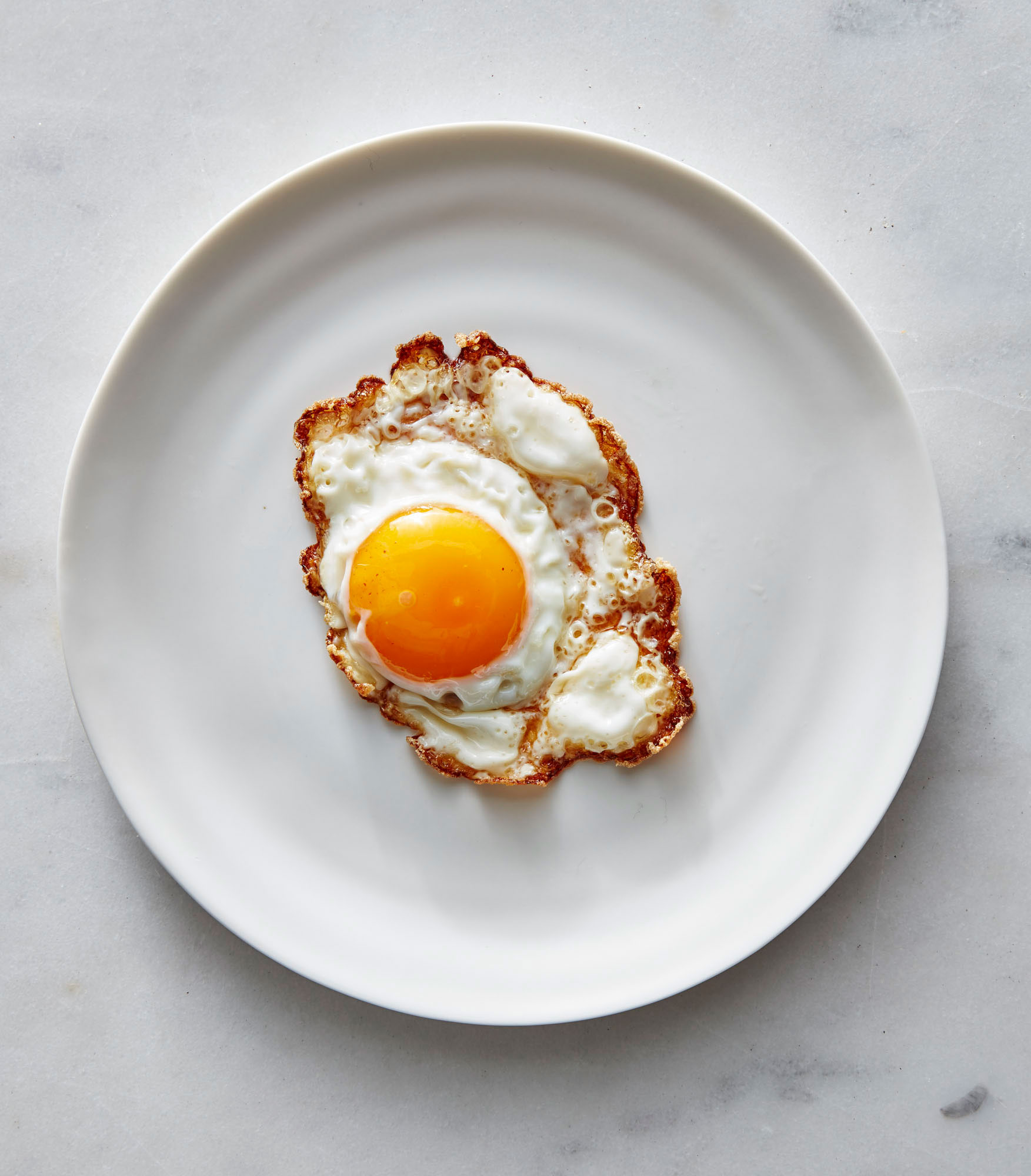 Frizzled Sunny-Side Up Eggs