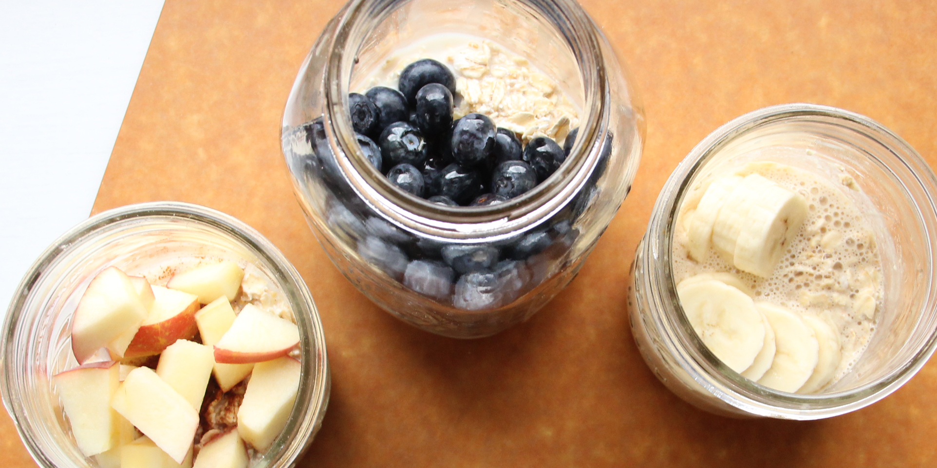Overnight Oats Overhead