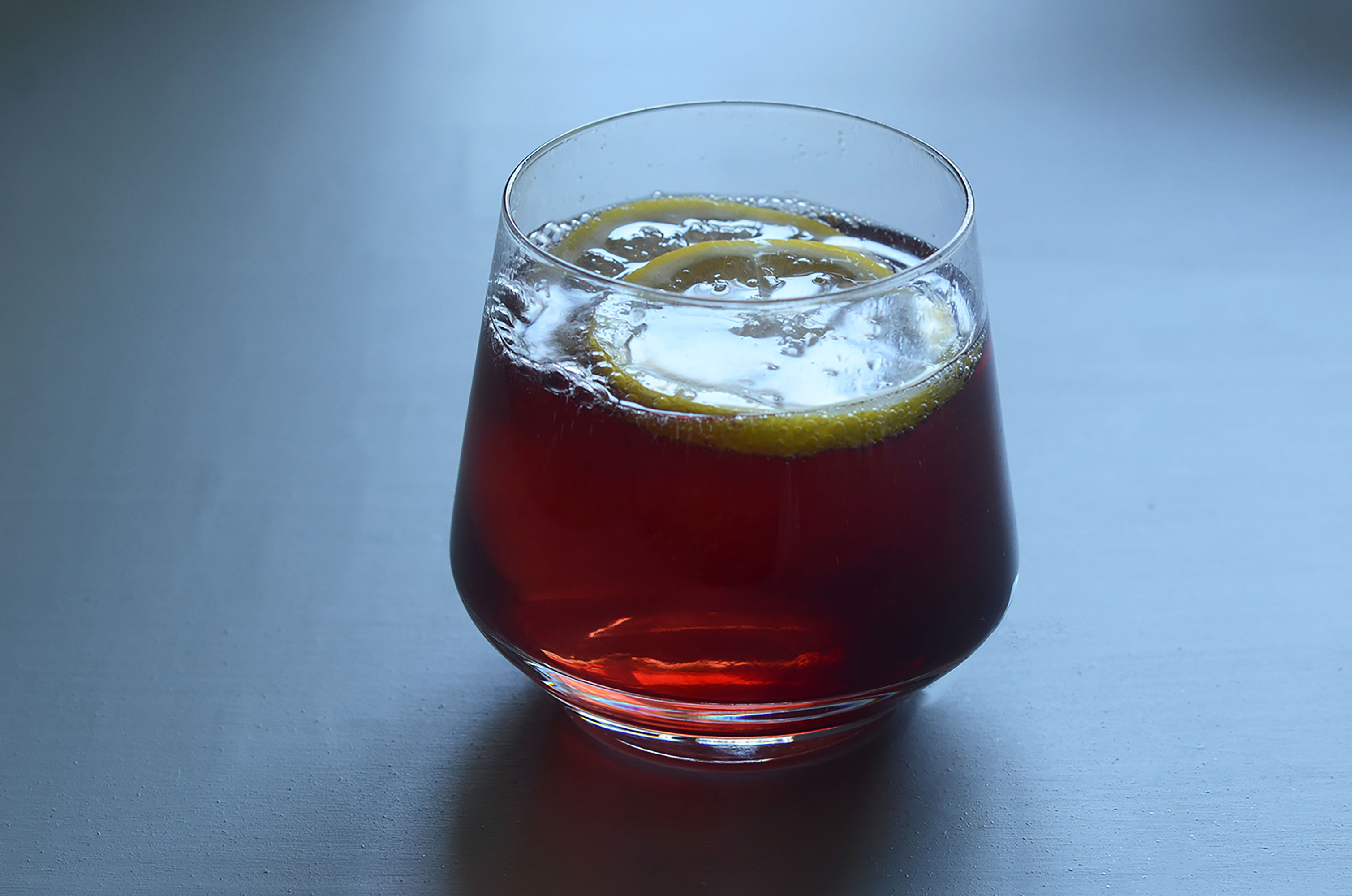 Elderberry Pomegranate and Apple Cider Vinegar Spritzer