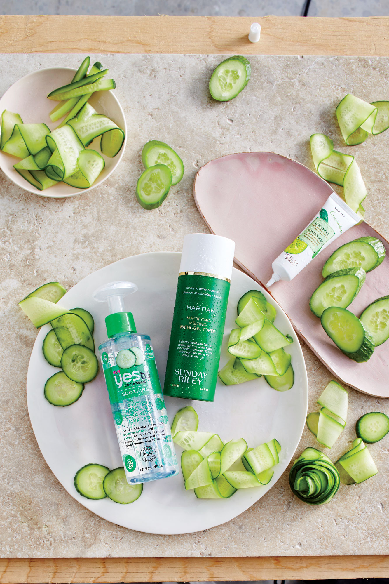 Cucumber Beauty Products