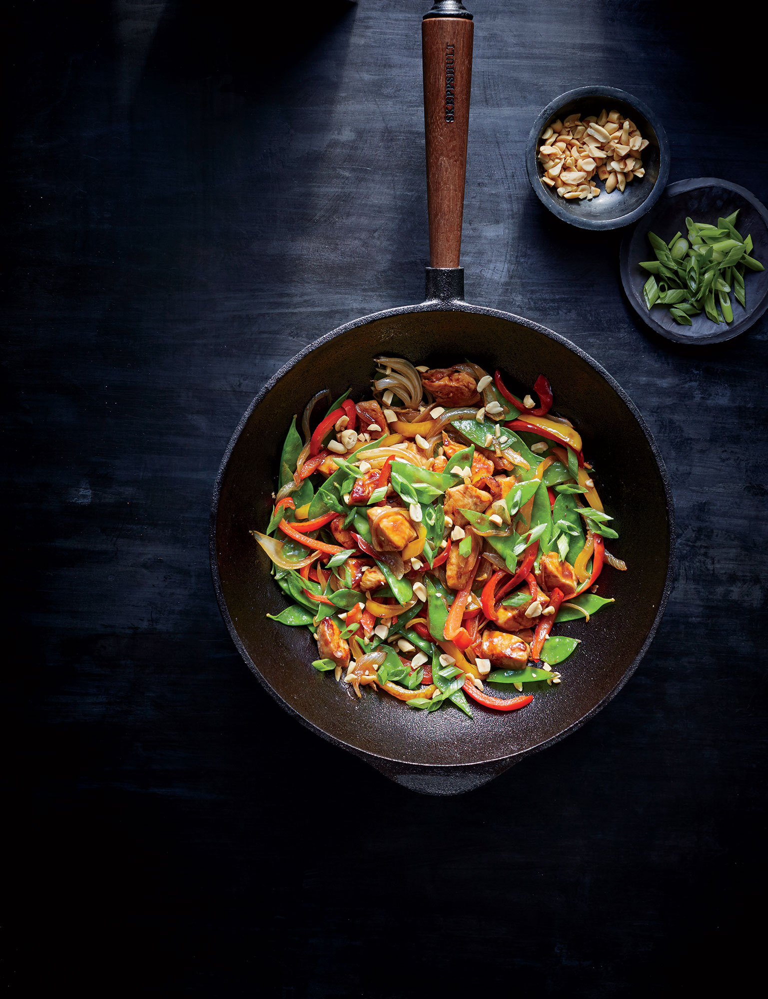 Szechuan Chicken Stir-Fry ~ Cooking Light