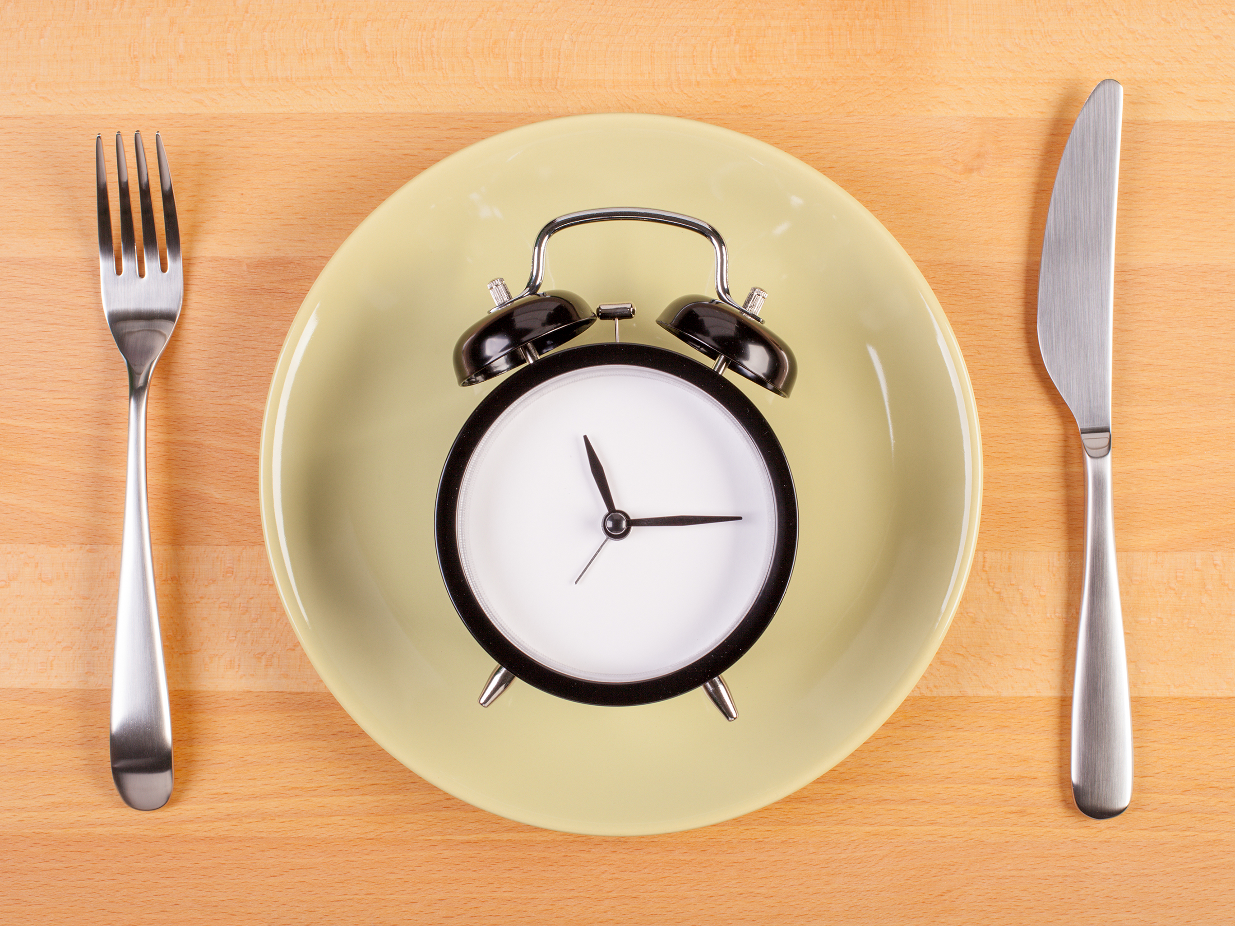 Fasting Clock and Plate