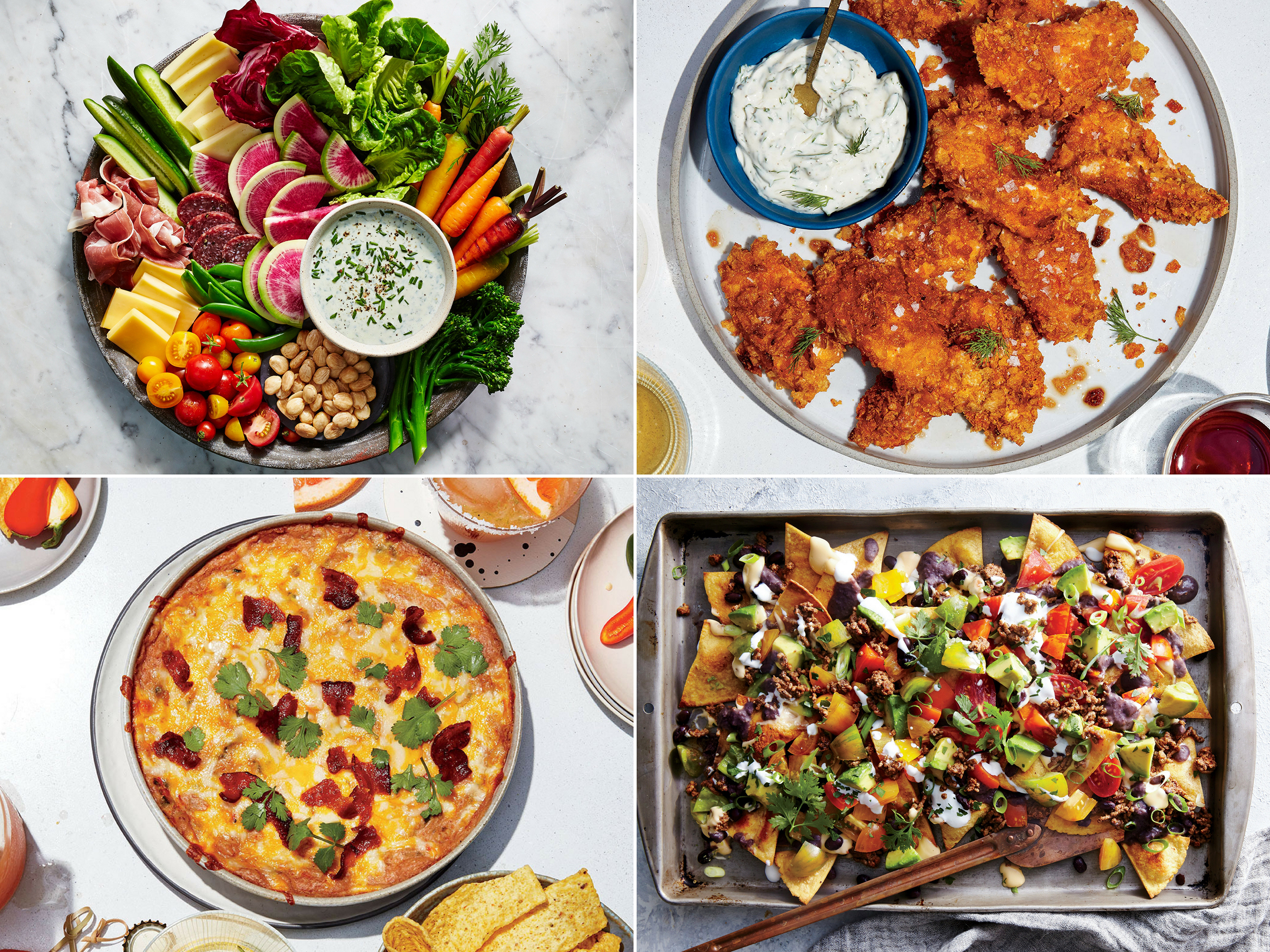 5 Healthier Versions Of Your Favorite Super Bowl Snacks Cooking