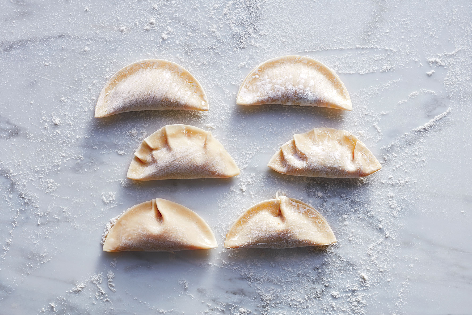 Pot Sticker Shapes