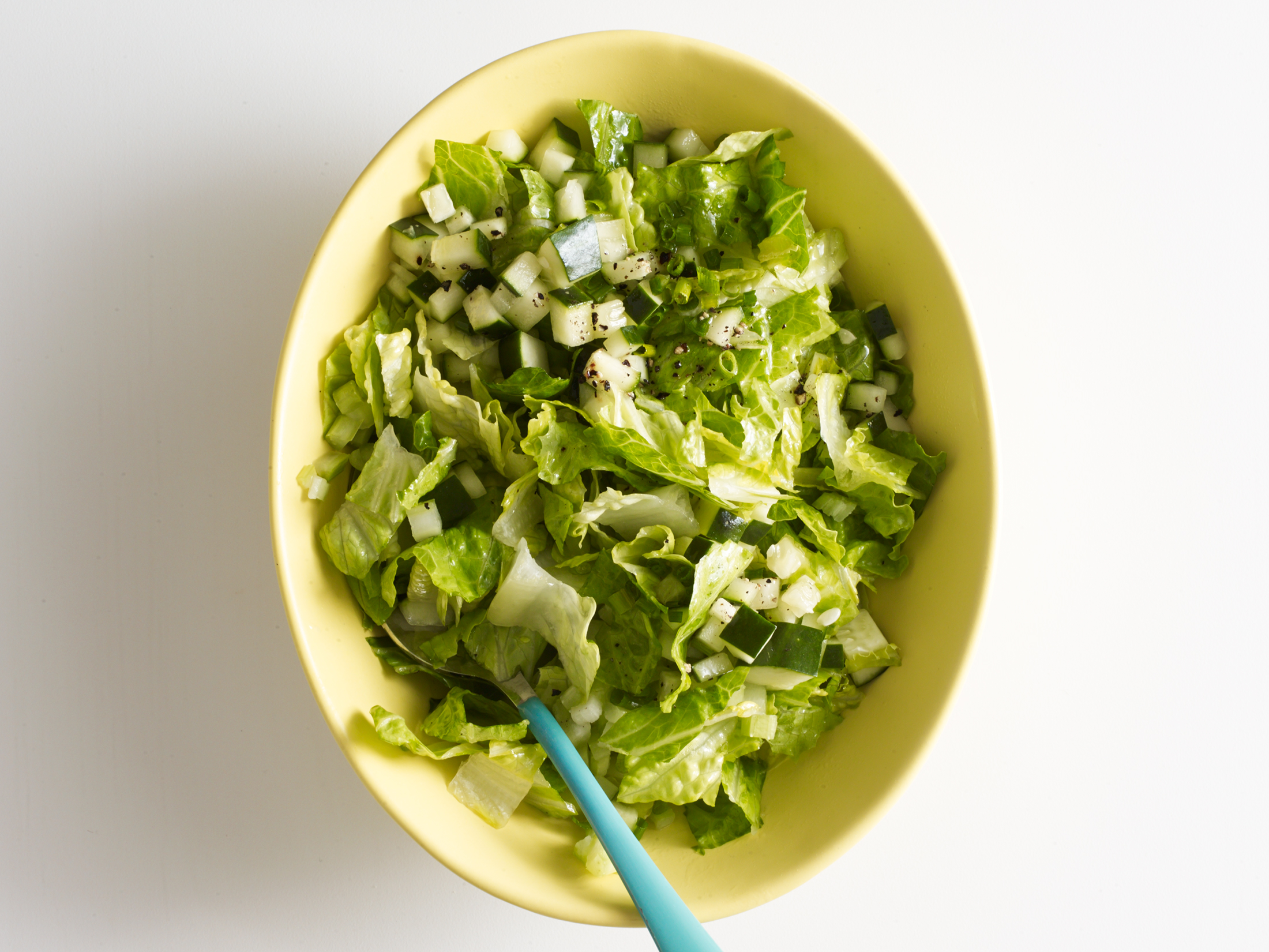 Chopped Salad With Chive Vinaigrette