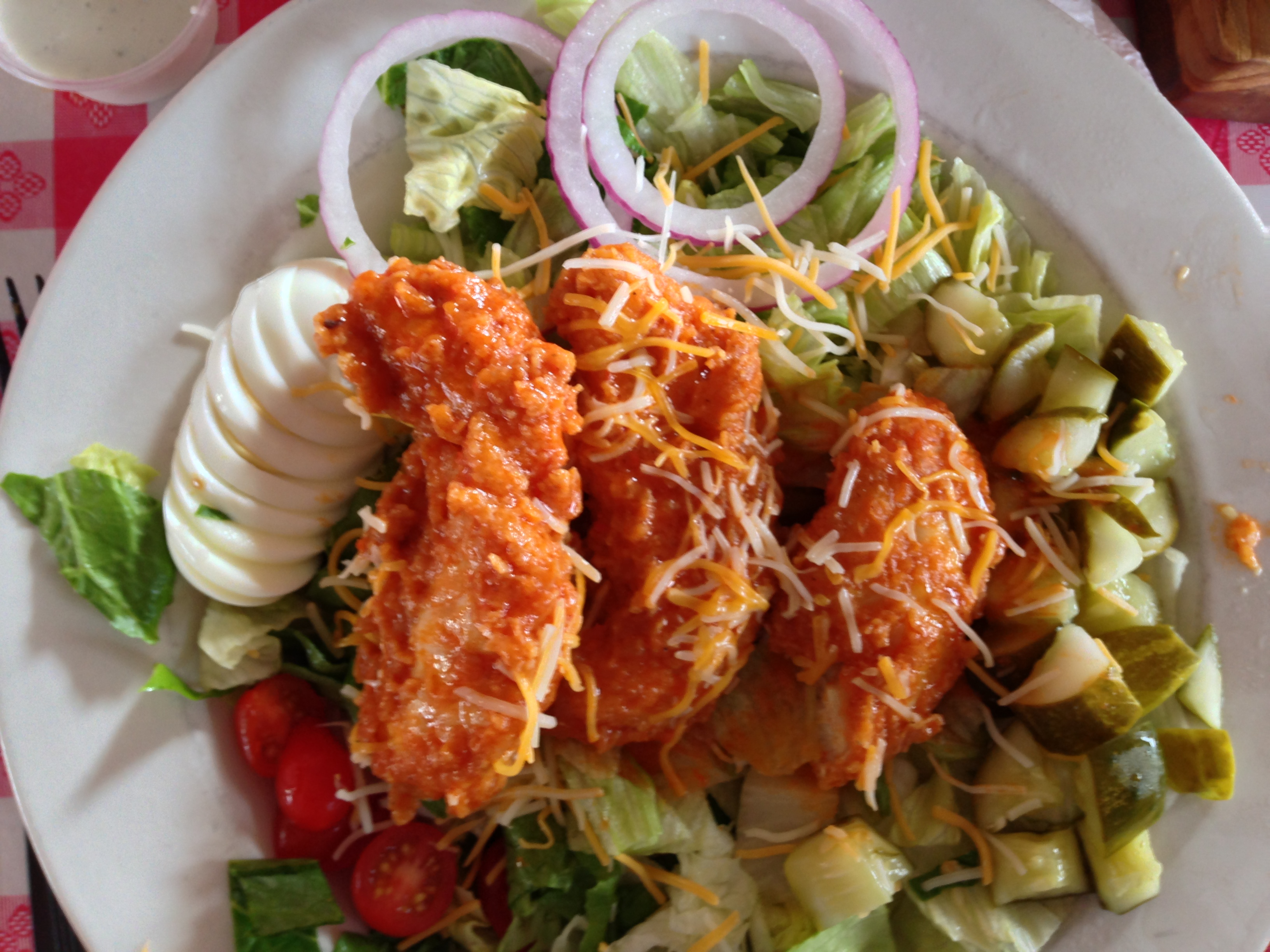 Champy's Buffalo Fried Chicken Salad