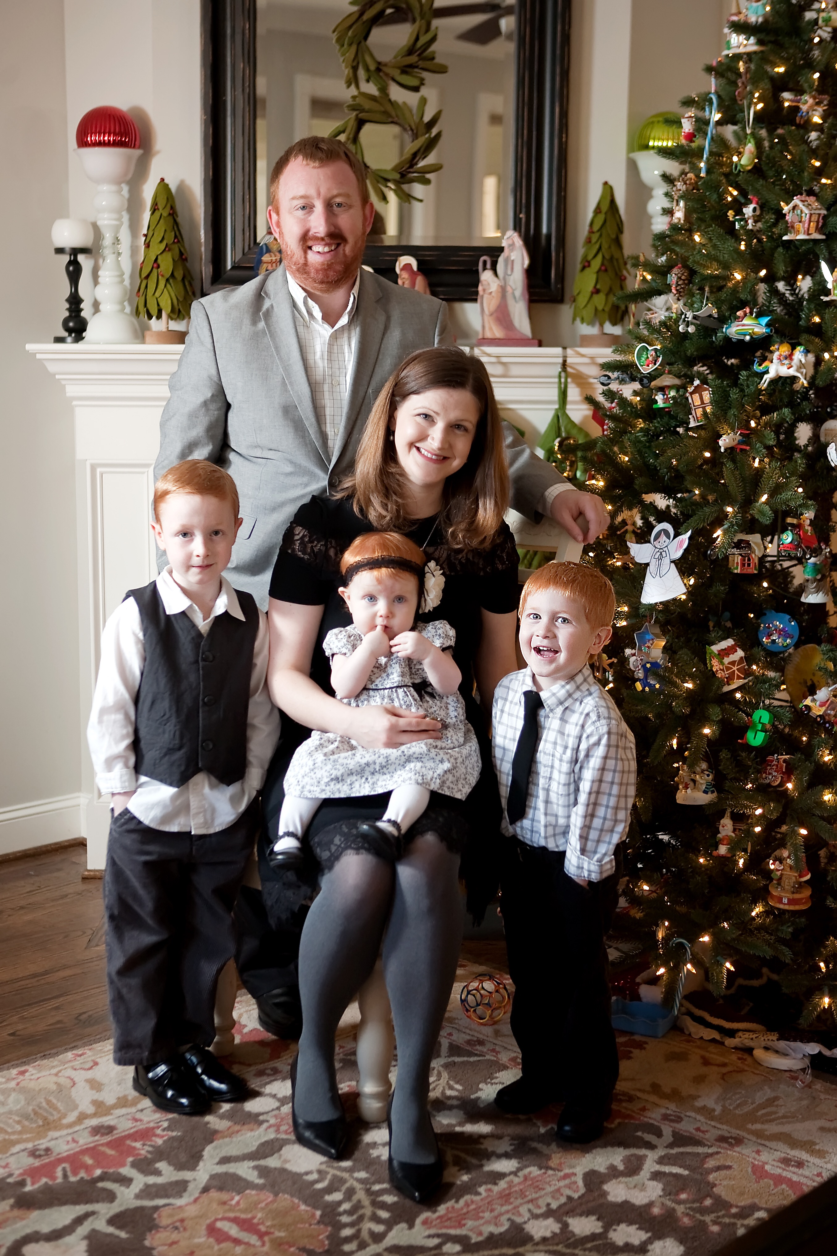 The Atwell Family at home in Apex, NC. Photo: Aimee Laine