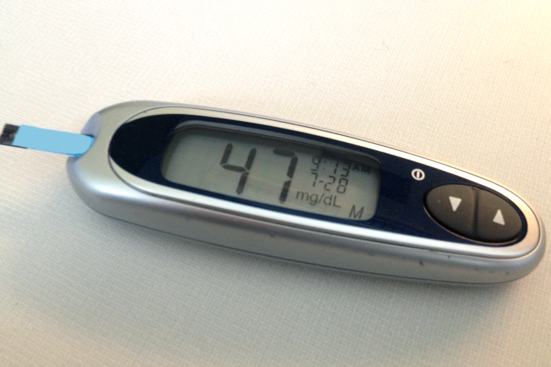 Since starting my weight-loss effort, I've been dealing with frequent bouts of low blood sugar.