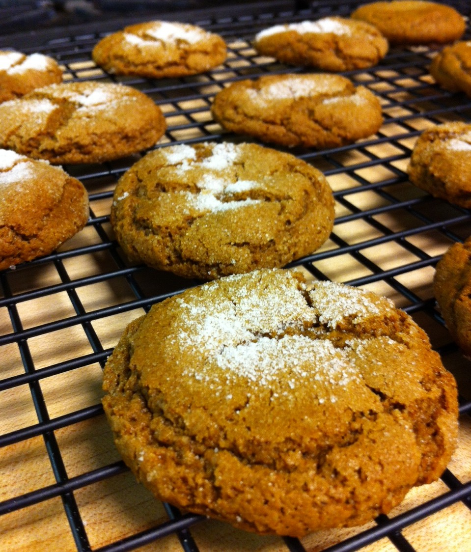 Our Molasses Cookies