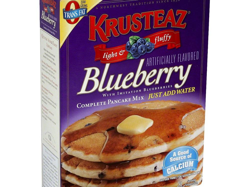 1607 Krusteaz Blueberry Pancake Mix