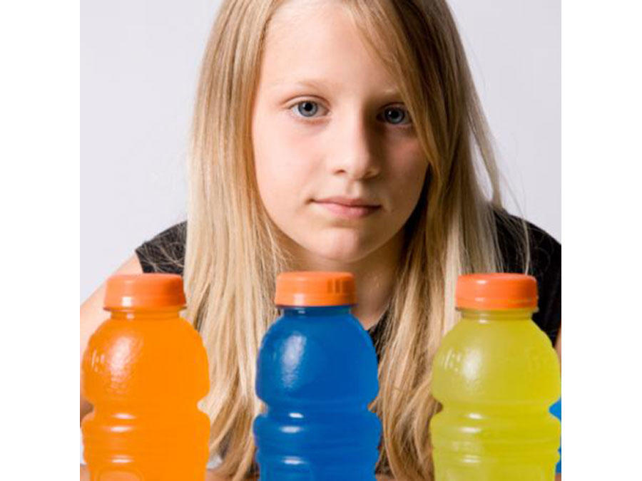 Girl Sports Drinks