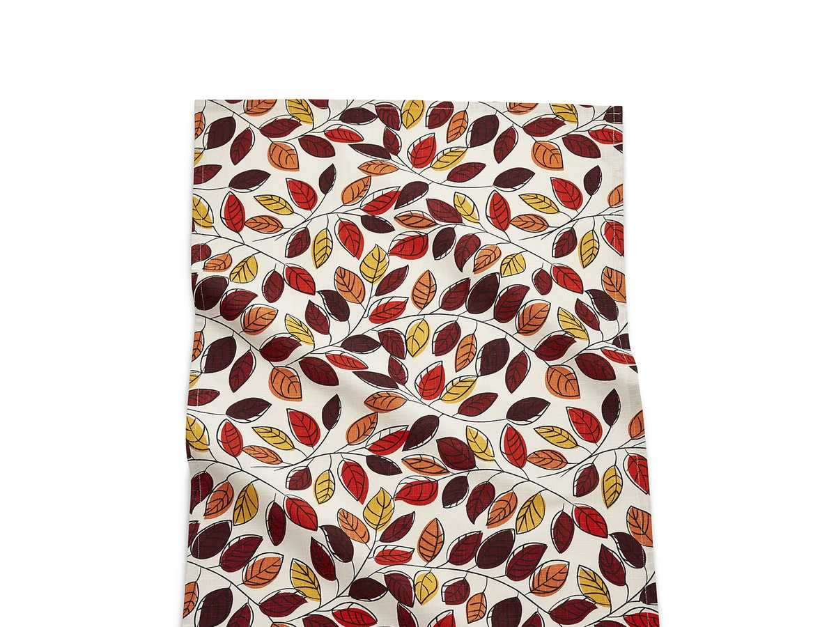 1609w-Scattered-Leaves-Dish-Towel