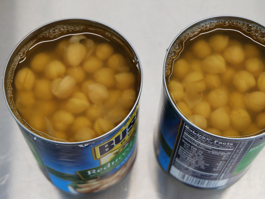 Chickpea Cans