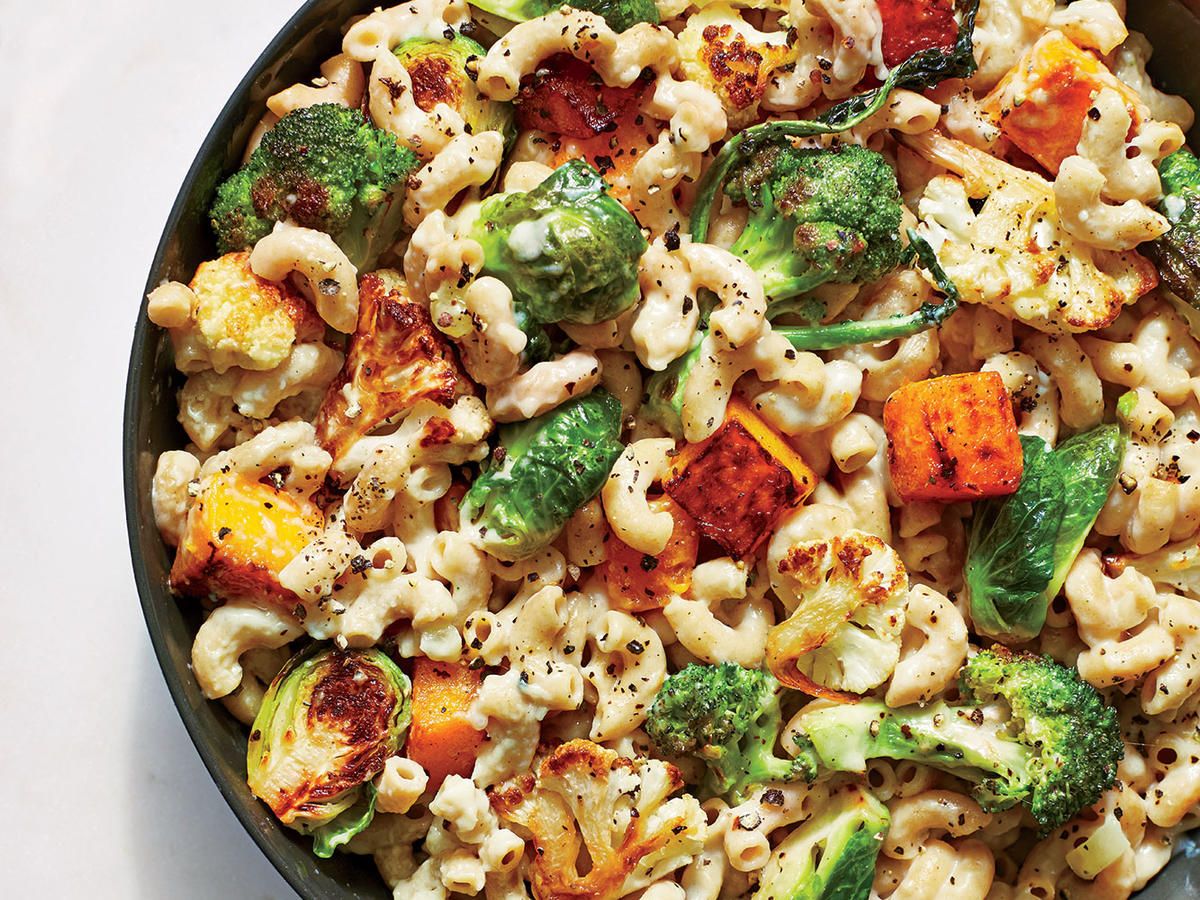 Roasted Veggie Mac and Cheese