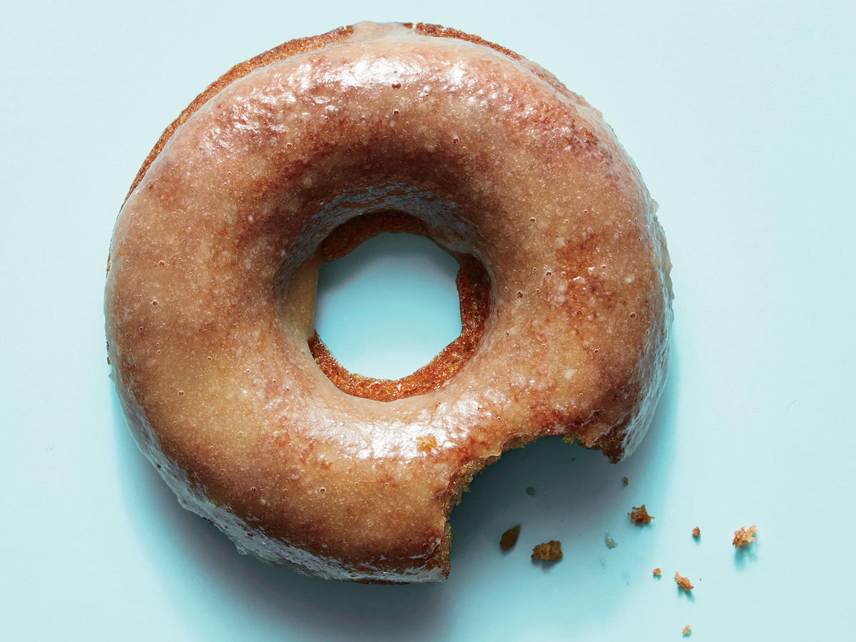 1710 Cider Doughnuts with Maple-Tahini Glaze - Sunday Strategist