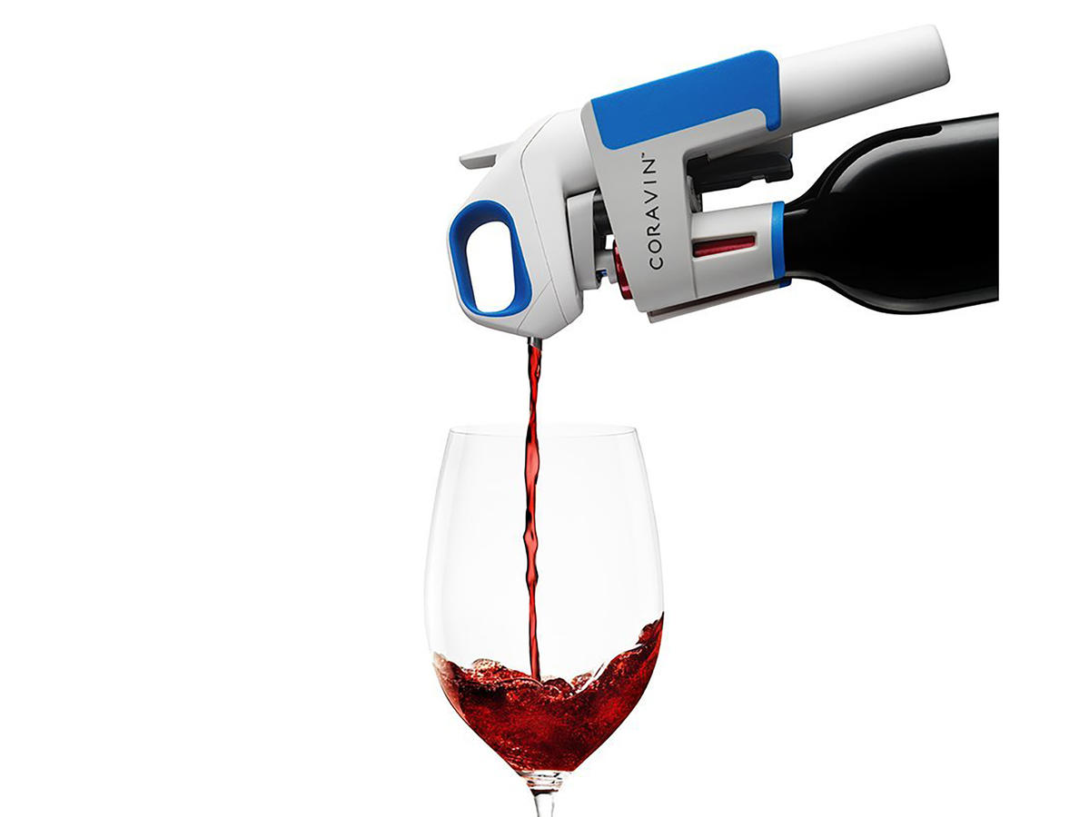 Limited Edition Steel Blue Coravin Wine System