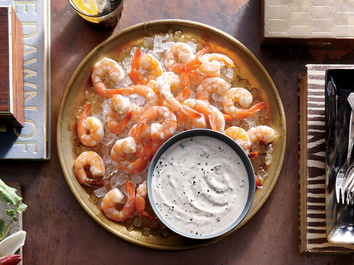 Broiled Shrimp with Buttermilk Rémoulade