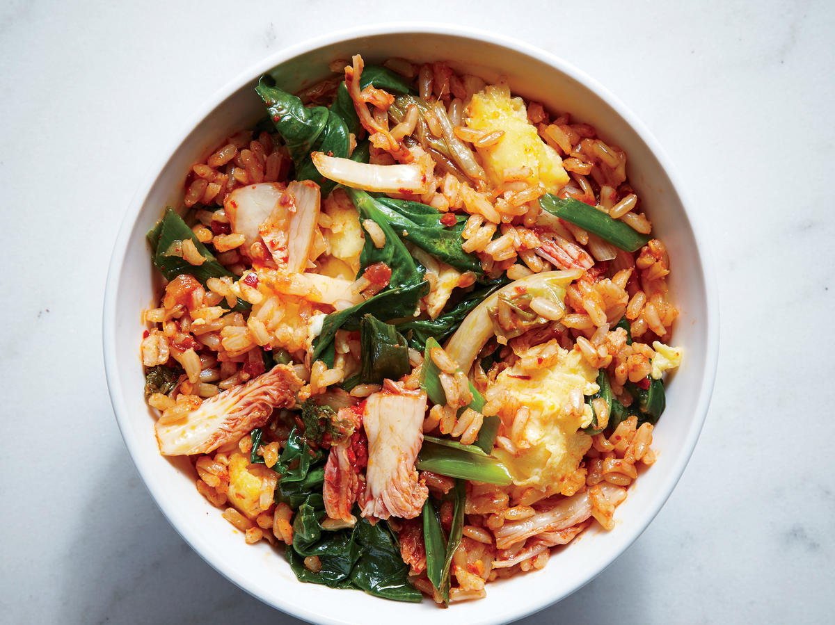 Tuesday: Kimchi Fried Rice