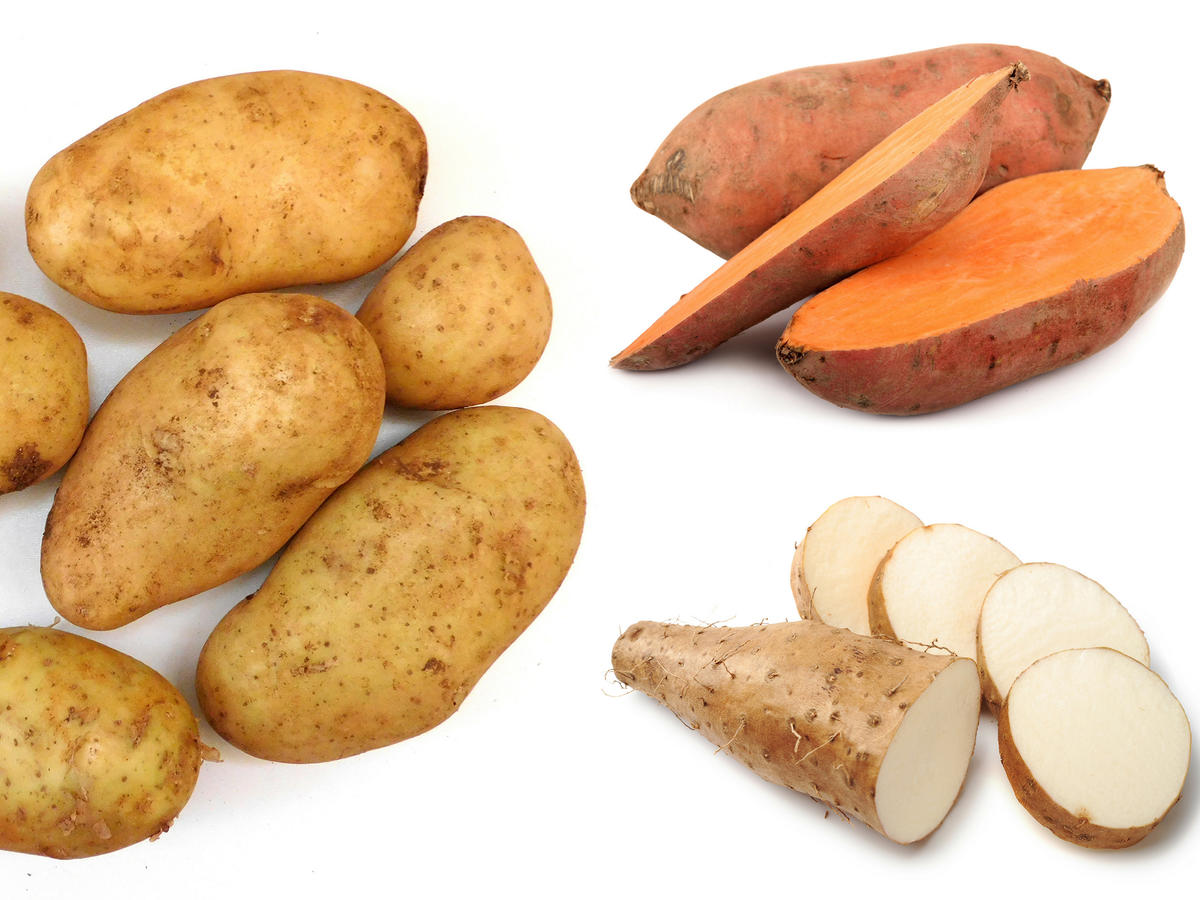 Difference Between Sweet Potatoes, Yams, and Potatoes