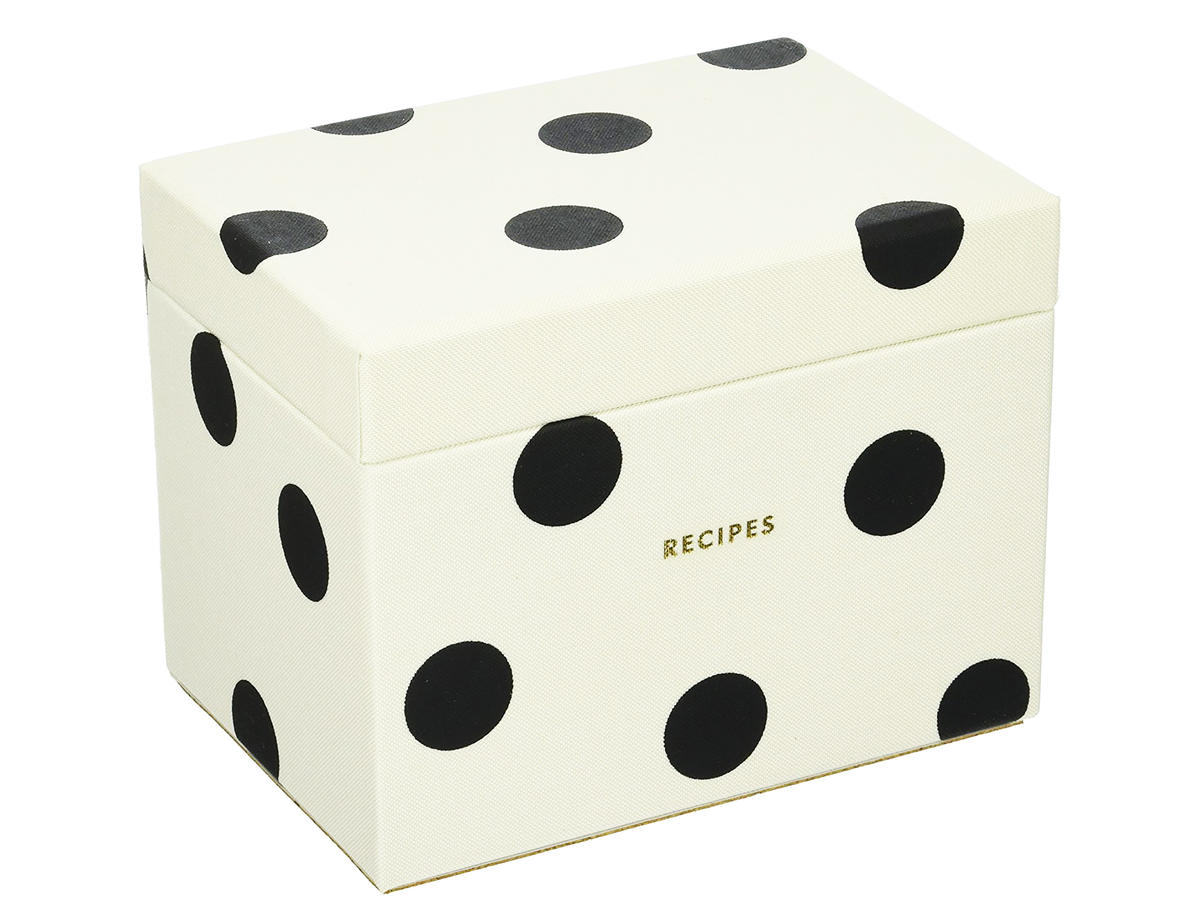 1712w Kate Spade Recipe Box