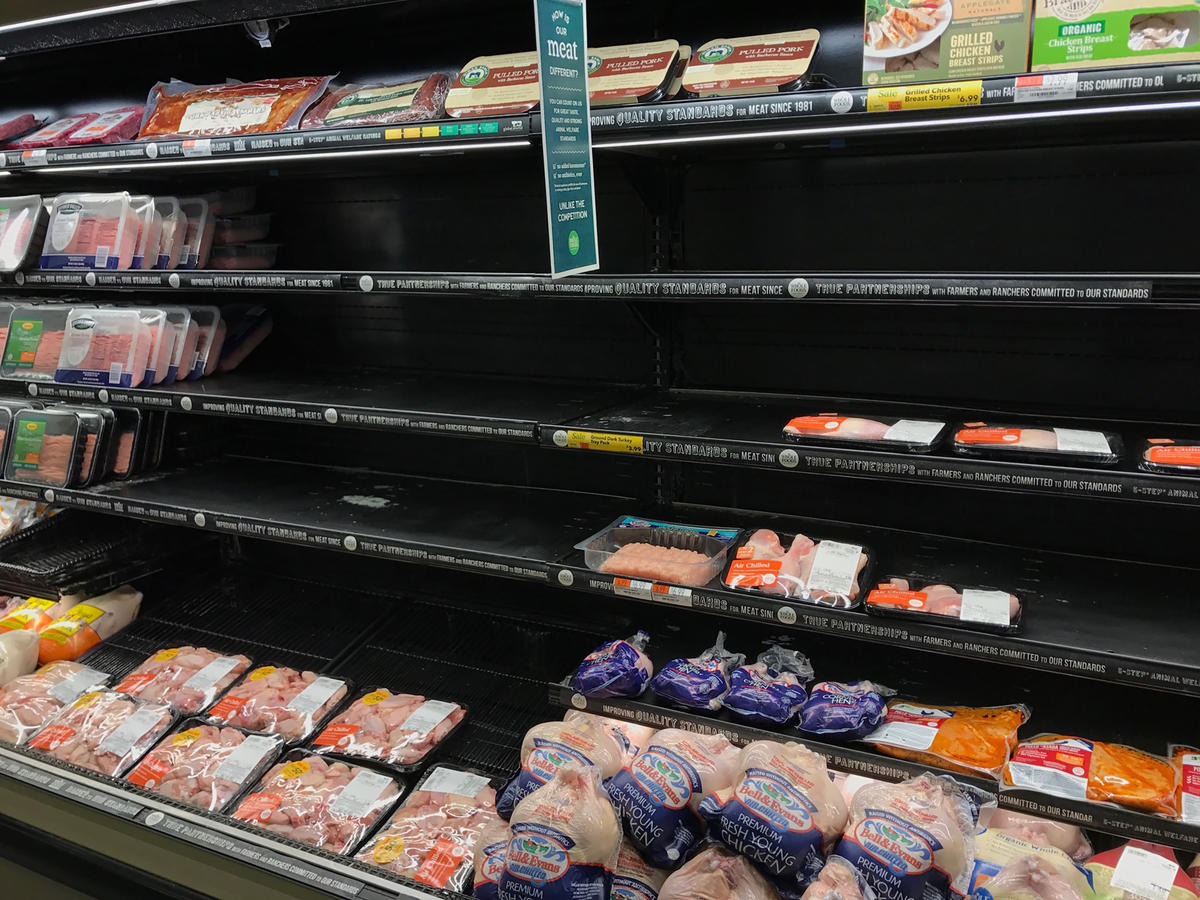 1801w Whole Foods Poultry Shelf
