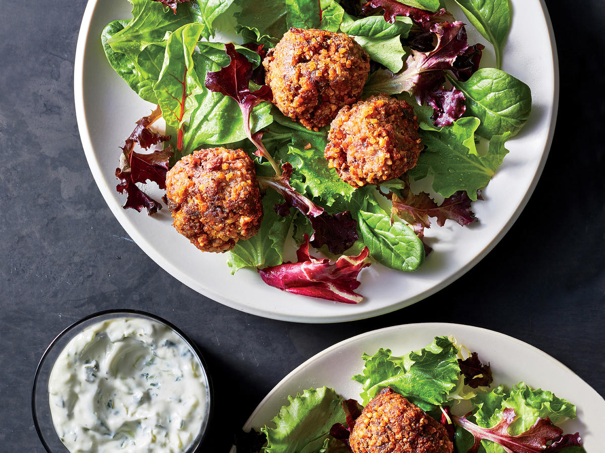 Wednesday: Lamb and Beet Meatballs