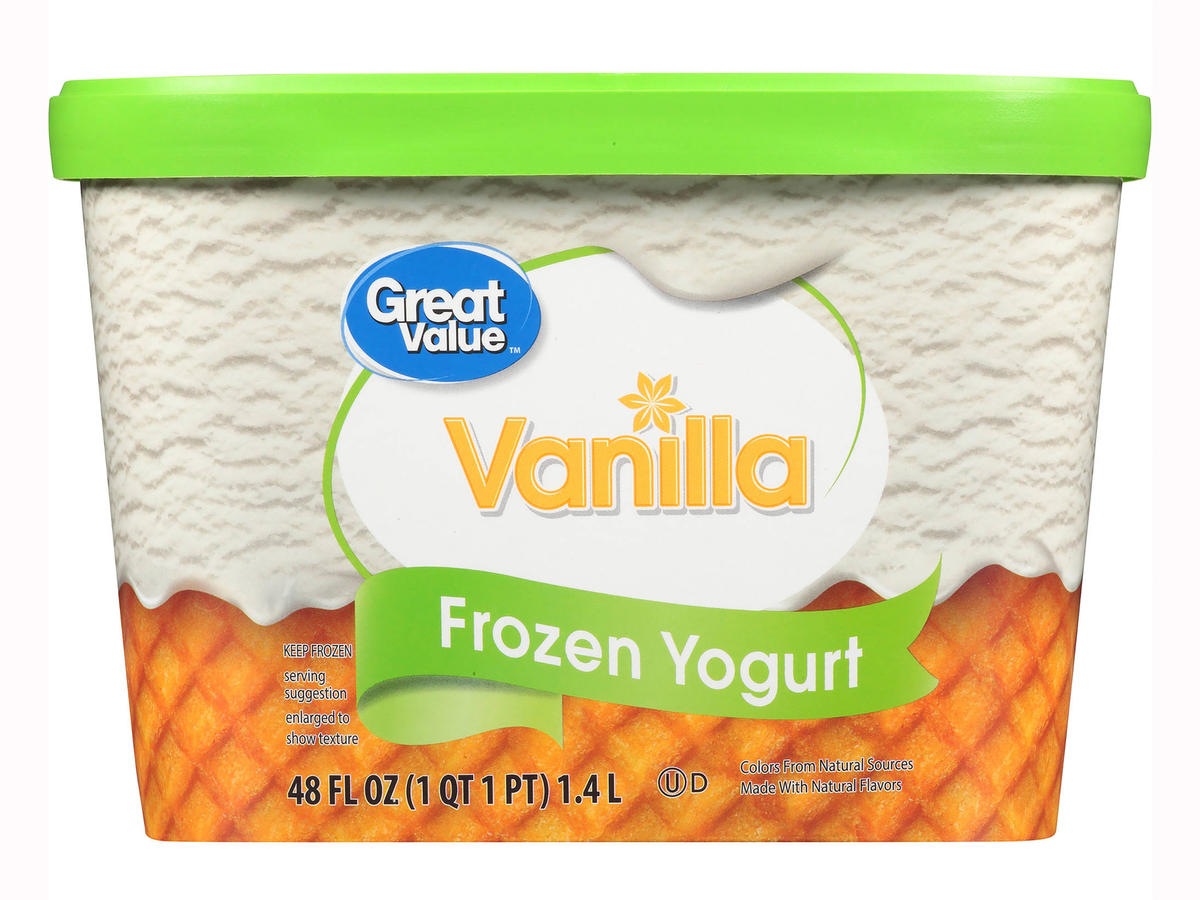 1802w Great Value Frozen Vanilla Yogurt