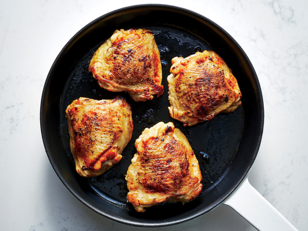 Curry-roasted Chicken Thighs
