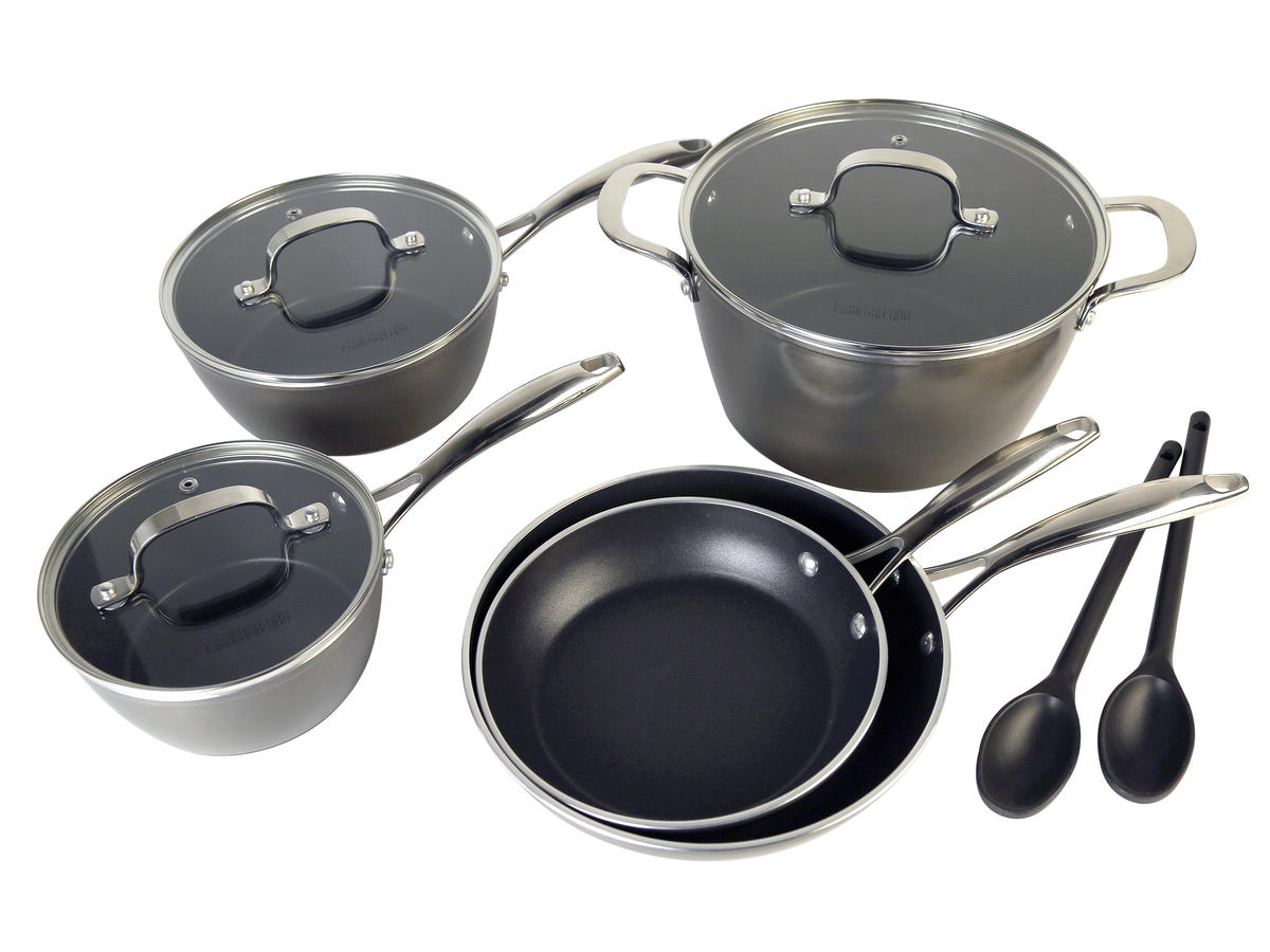 Cooking Light 10 Piece Nonstick Cookware Set
