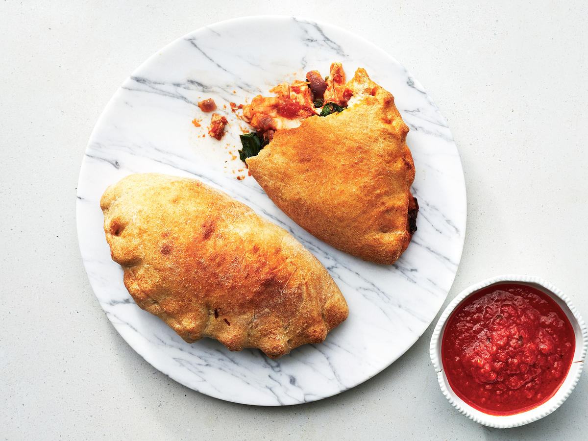 Air-Fried Calzones