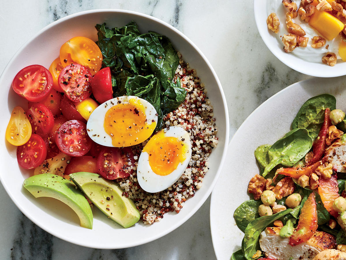 Quinoa Breakfast Bowl with a 6-Minute Egg