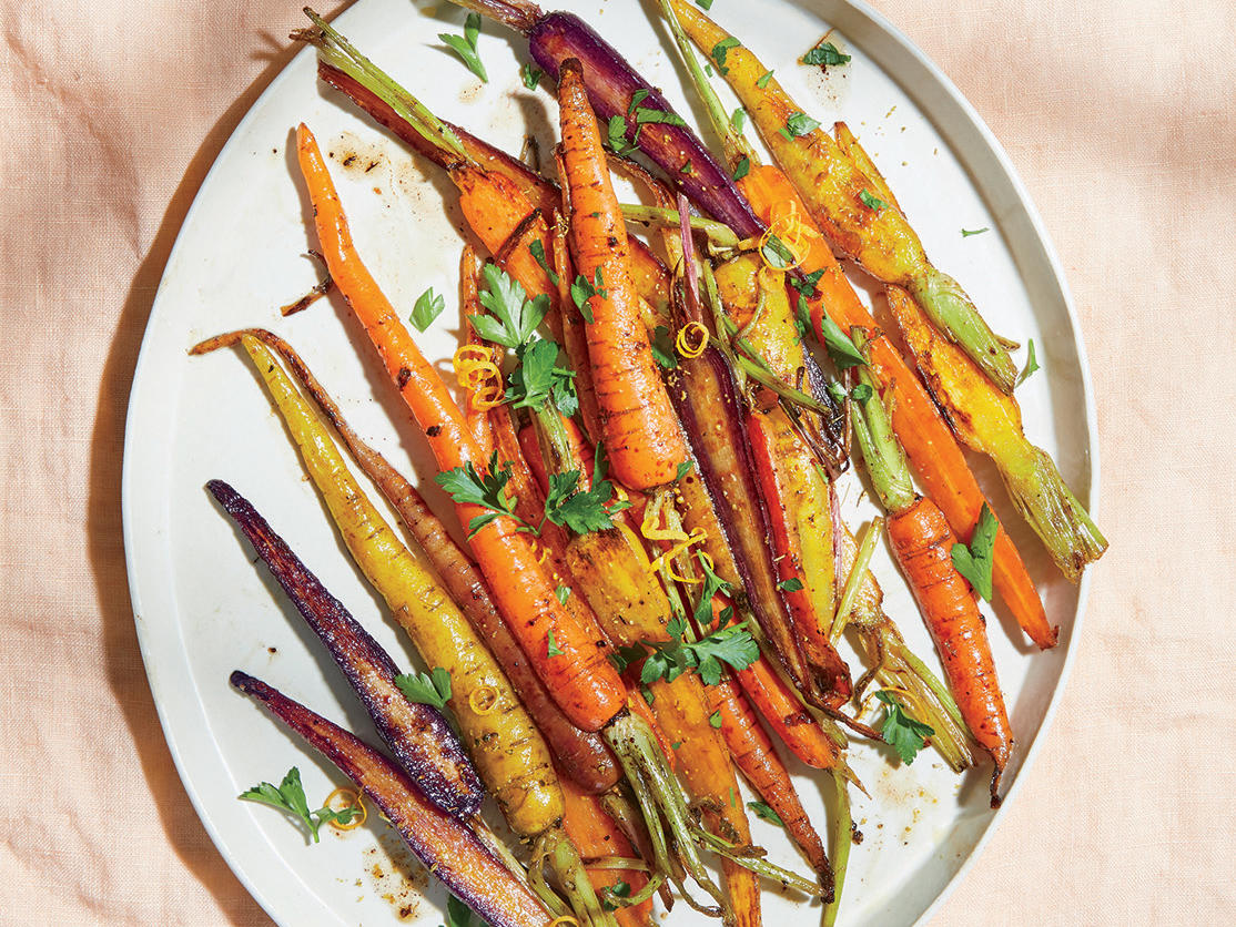 Coffee-roasted Carrots