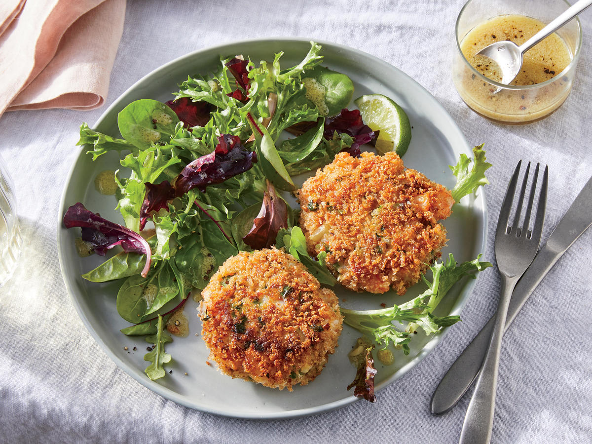 Spicy Thai Shrimp Cakes