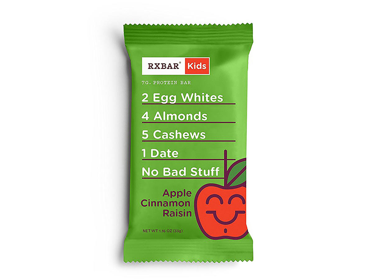 RXBar Kids' Apple Cinnamon Raisin