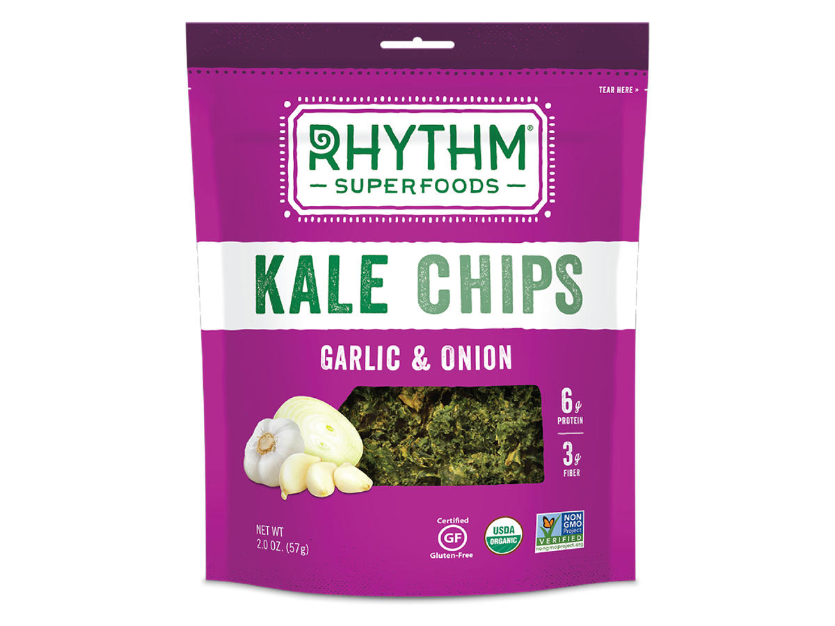 Actually Tasty Kale Chips